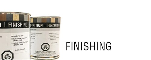 Finishing - hardwood flooring